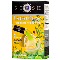 Stash Tea Lemon Ginger Green Iced Tea Powder