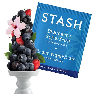 Stash Tea Blueberry Superfruit Herbal Tea