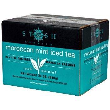 Stash Tea Moroccan Mint Iced tea