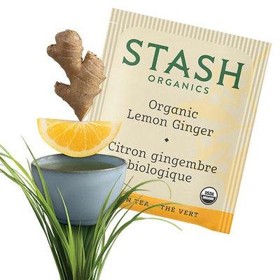 Stash Tea Lemon Ginger Organic Green Tea