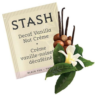 Stash Tea Vanilla Nut Creme Decaf Black Tea