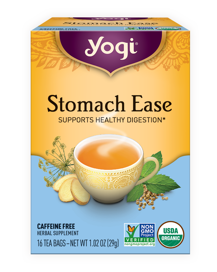 Yogi Tea's Yogi Stomach Ease Tea
