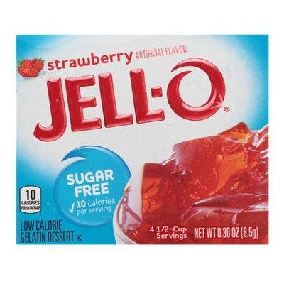 JELL-O Sugar Free Strawberry Gelatin Dessert