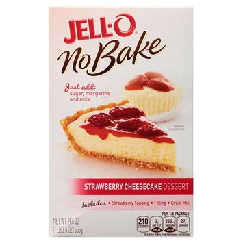JELL-O No Bake Strawberry Cheesecake Dessert Mix