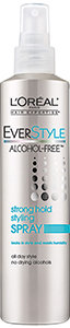 L'Oréal Paris EverStyle Alcohol-Free™ Strong Hold Styling Spray