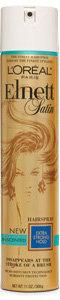 L'Oréal Paris Elnett Satin Hairspray Extra Strong Hold Unscented