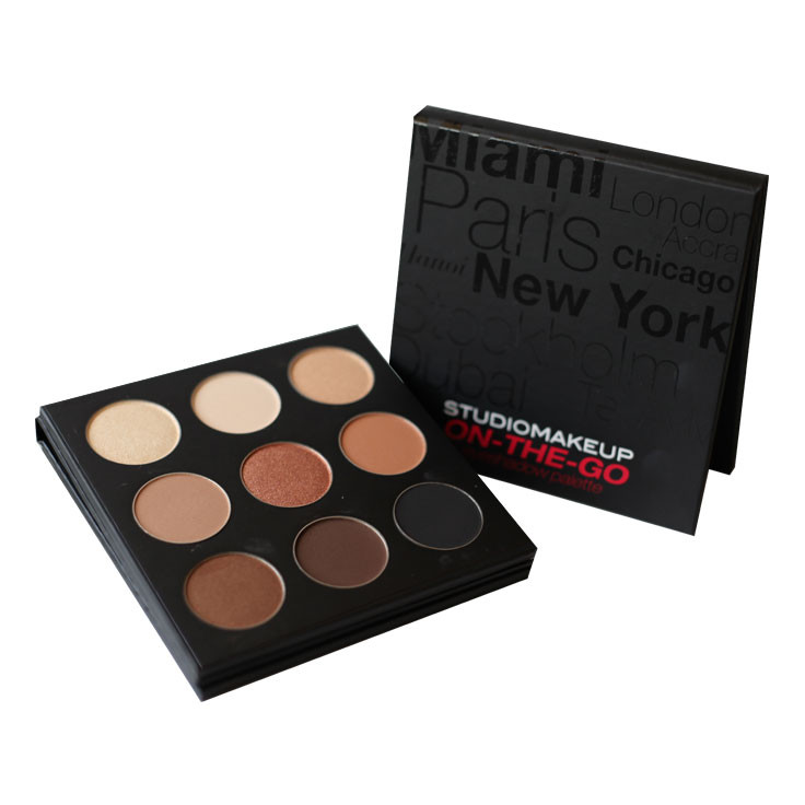 Studio Makeup On-The-Go Warm Up Eyeshadow Palette
