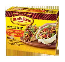 Old El Paso® Hard & Soft Taco Dinner Kit