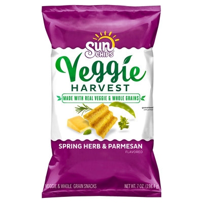 SunChips® Veggie Harvest Spring Herb & Parmesan Snacks