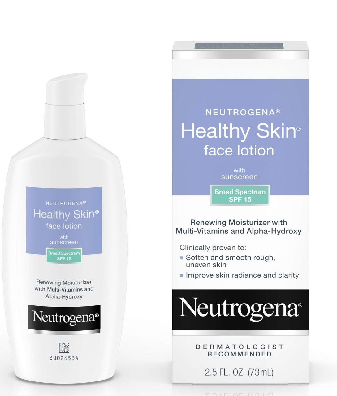 Neutrogena® Healthy Skin Face Lotion with Sunscreen Broad Spectrum SPF 15