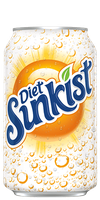 Sunkist Diet Orange Soda