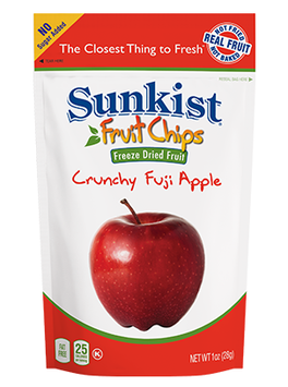 Sunkist® Fruit Chips® Crunchy Fuji Apple