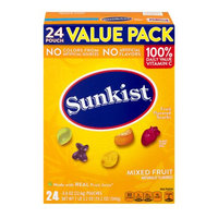 Sunkist Fruit Flavored Snacks
