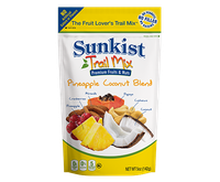 Sunkist Fruit Lover's Trail Mix Pineapple Coconut Blend