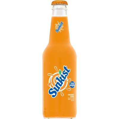 Sunkist Orange Soda Made with Real Sugar