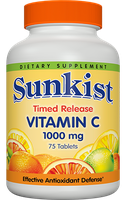Sunkist Timed Release Vitamins Vitamin C 1000 mg Tablets