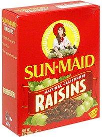 Sun Maid Raisins Natural California