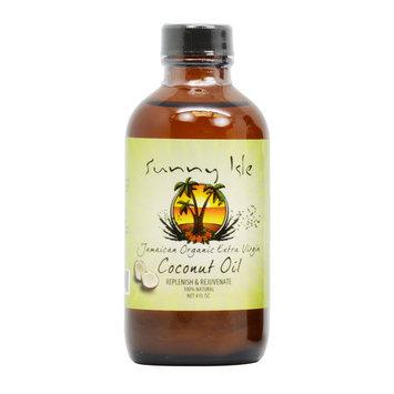 Sunny Isle Jamaican 4-ounce Organic Extra Virgin Coconut Oil