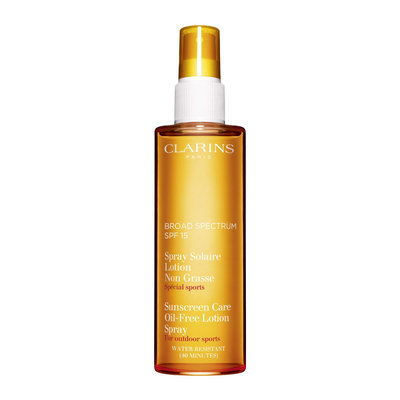 Clarins SPF 15 Sunscreen Care Oil-Free Lotion Spray