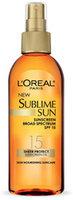 L'Oréal Sublime Sun SPF 15 Sunscreen Oil Lotion