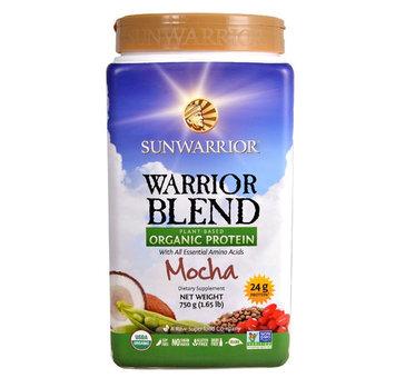 SUNWARRIOR® Warrior Blend Plant-Based Organic Protein Mocha