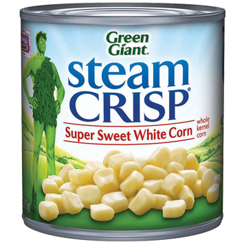 Green Giant® SteamCrisp® Super Sweet White Whole Kernel Corn Can
