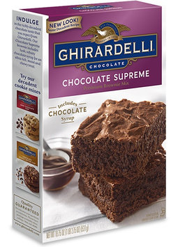 Ghirardelli Supreme Brownie Mix Chocolate