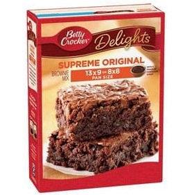 Betty Crocker™ Supreme Original Brownie Mix