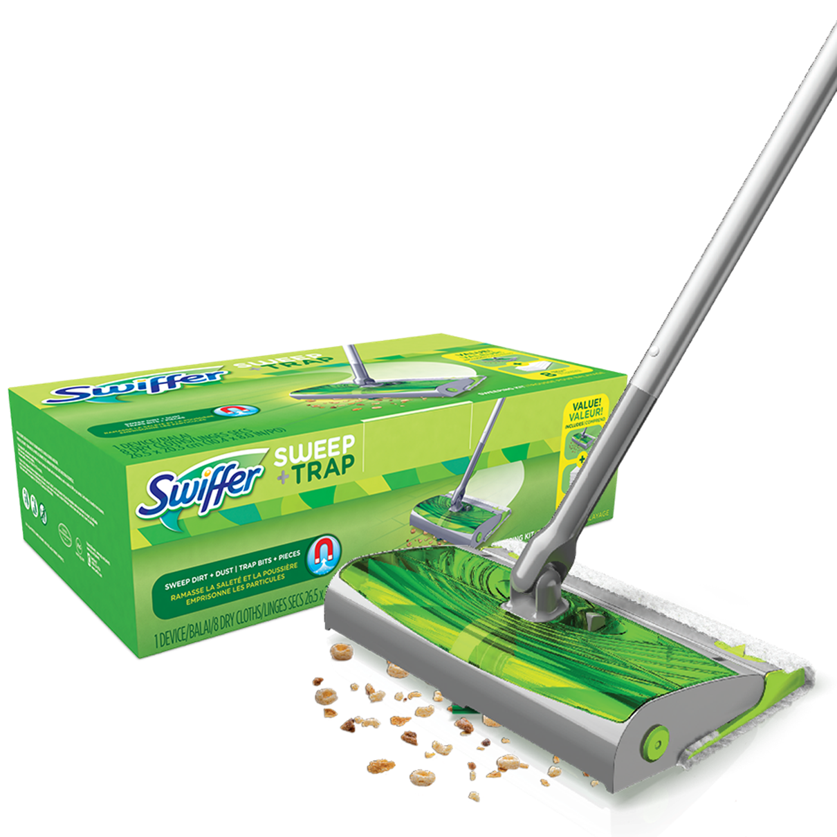 Swiffer® Sweep & Trap™ Kit
