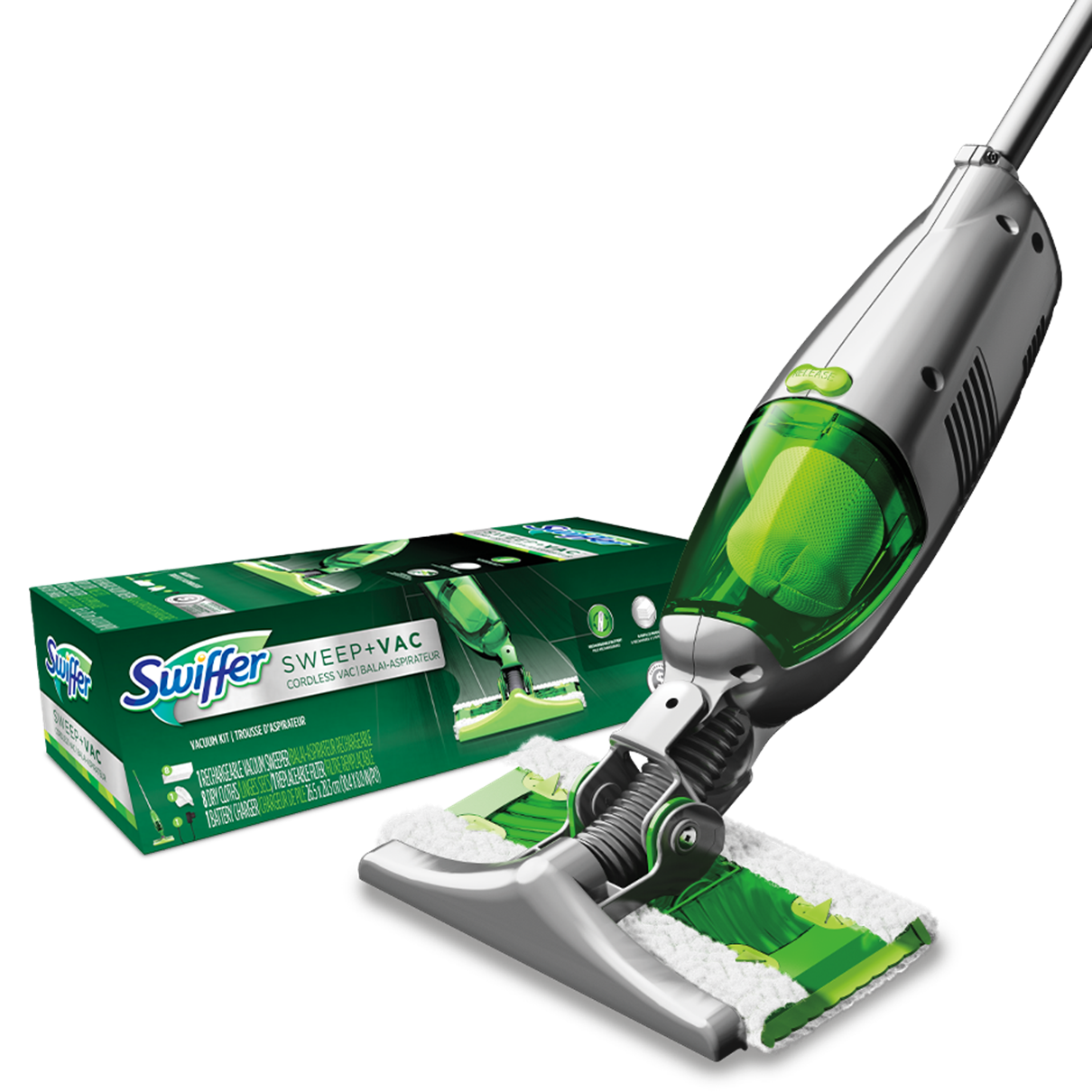 Swiffer® Sweep + Vac™ Kit
