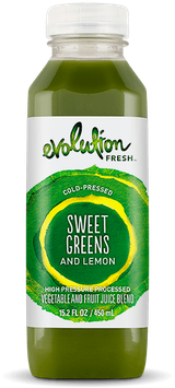 Evolution Fresh™ Sweet Greens and Lemon Vegetable and Fruit Juice Blend