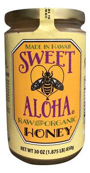 Sweet Aloha® Hawaii Certified Raw Organic Multi Floral Honey