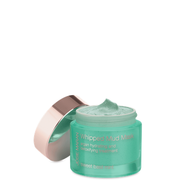 Josie Maran Whipped Mud Mask Argan Hydrating and Detoxifying Treatment Sweet Basil Mint