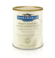 Ghirardelli Sweet Ground White Chocolate Flavor Baking & Desserts