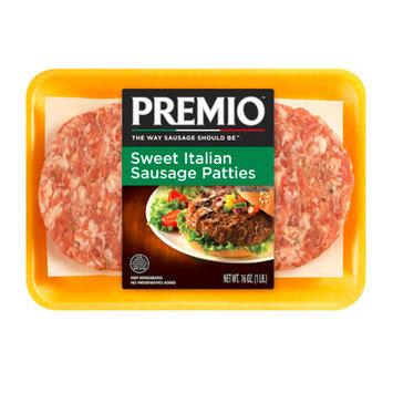 Premio Sweet Italian Sausage Patties