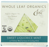 Choice Organic Teas Whole Leaf Organics Sweet Liquorice Mint Tea