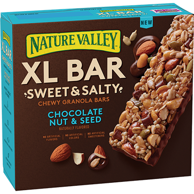 Nature Valley™ XL Bar Chocolate Nut & Seed Sweet & Salty Chewy Granola Bars