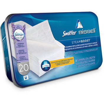 Swiffer® Steamboost™ powered by BISSELL® Steam Pads - Febreze® Lavender Vanilla & Comfort™ Scent
