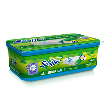 Swiffer Sweeper Febreze Lavender Vanilla & Comfort Scent Wet Mopping Pad Refills 36 ct Pack