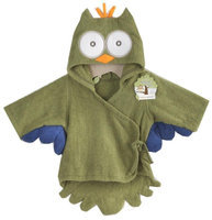 Baby Aspen My Little Night Owl Hooded Terry Spa Robe