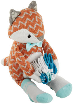 Baby Aspen Socks Gift Set - Mr. Fox in Socks - 4 pc - 1 ct.