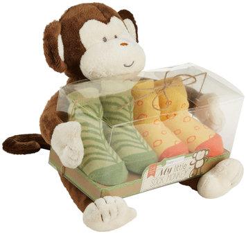 Baby Aspen Socks Gift Set - My Little Sock Monkey - 2 pc - 1 ct.