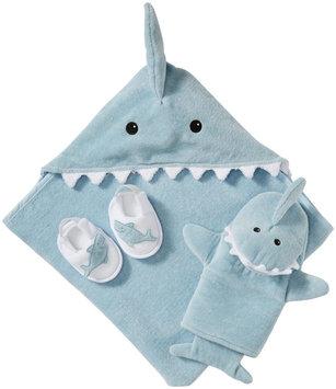 Baby Aspen Bathtime Gift Set - Let the Fin Begin! - 4 pc - 1 ct.