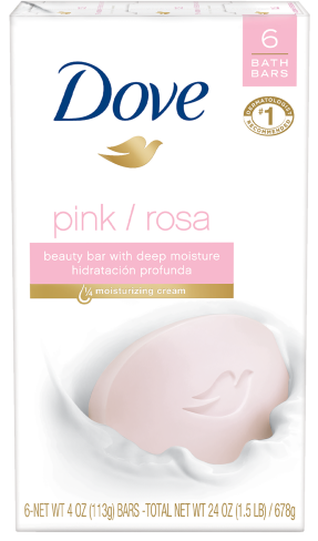 Dove Pink Beauty Bar