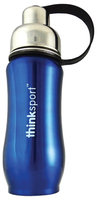 Thinkbaby Thinksport Insulated Sports Bottle - Blue - 12 oz