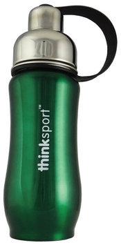 Thinkbaby Thinksport Insulated Sports Bottle - Green- 12 oz