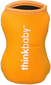 Limestone Thermal Bottle Sleeve Orange thinkbaby 1 Cover