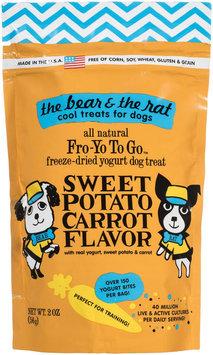The Bear & The Rat Sweet Potato & Carrot Yogurt Treats 2 oz