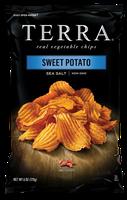 Terra Chips Sweet Potato Chips Crinkled with Sea Salt