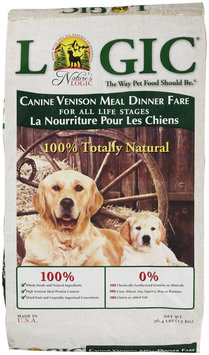 Nature's Logic Dry Dog Food - Venison